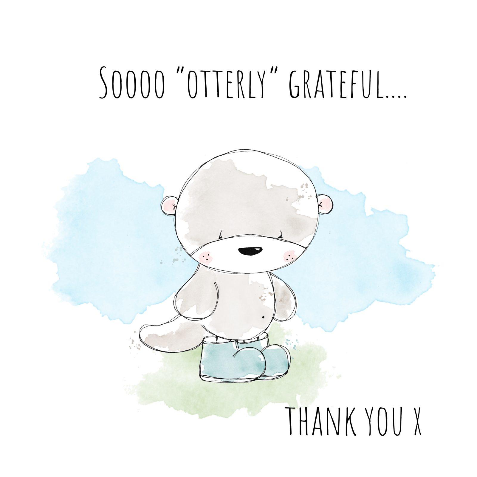 Otterly Grateful